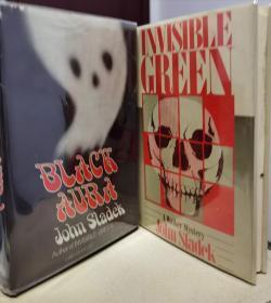 谜斗篷 无形的绿先生英文原版 美国初版 外加作者另一部作品black aura