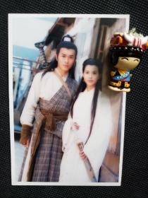 1995年版《神雕侠侣》双人合影1 古天乐饰演杨过,李若彤饰演小龙女
