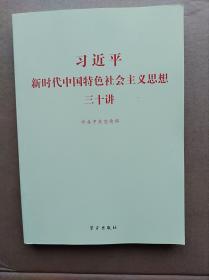 习近平新时代中国特色主义思想30讲                      (16开)《193》