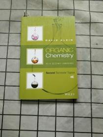 Organic Chemistry as a Second Language: Second正版现货