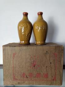供销社库存北京同仁堂hu骨药酒一箱六瓶,单瓶重3.7斤。 电微同步18006398662
