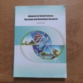 Advances in social science,Education and Humanities Research社会科学、教育和人文研究进展