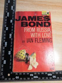 007系列   邦德  FROM RUSSIA WITH LOVE  《007之俄罗斯之恋》   JAMES BOND