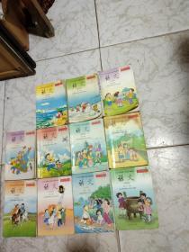 九年义务教育六年制小学教科书语文第二册至12册(2--12册)彩色版!