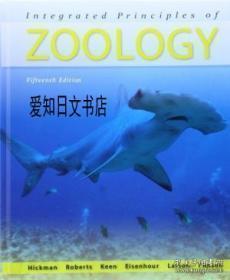 【包邮】Integrated Principles Of Zoology