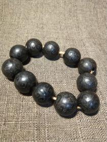 老玛瑙珠串珠子