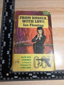 007系列   邦德   JAMES BOND        FROM RUSSIA WITH LOVE    《007之俄罗斯之恋》