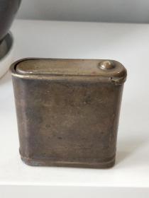 民国厚重好品铜烟盒