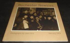 2手英文 Rochester Newsies: Photographs by Lewis Hine 列维·海因 14张图 sdd86