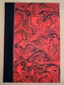 金鸡珍本:Zastrozzi:A Romance《扎斯特洛奇》 豪华精装本,日本高档羊皮纸印刷