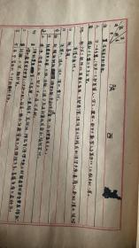 中医手稿40页