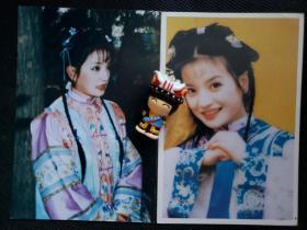 1999版《还珠格格》20多年前原版照片小燕子单人2张-11组,赵薇饰演小燕子(亦可购单张)