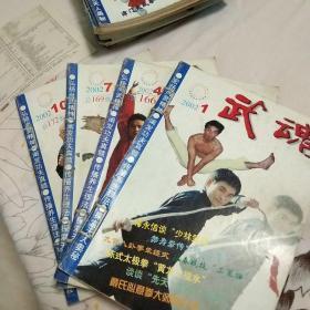 武魂2002全年12本合售