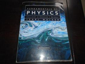 FUNDAMENTALS OF PHYSICS, HALLIDAY & RESNICK, 9TH EDITION(2本一套, 平装厚册16开)