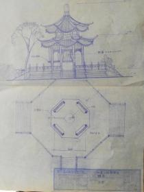存在或者消失的南京景点建筑;栖霞寺.钟楼