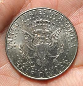 美國2012年半美元一枚(保真)