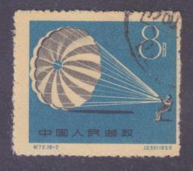 【中國精品郵品保真    新中國老紀特郵票 紀72一屆全國運動會 16-2舊  】