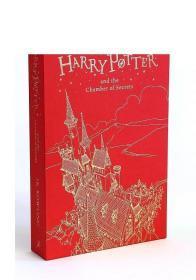 哈利波特与密室英文原版豪华版 Harry Potter J. K. Rowling 哈利波特2