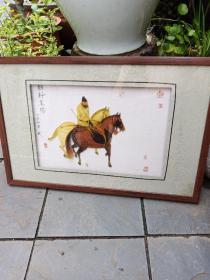 黄德义雪木雕塑画a(90年代中国工艺美术大师作品,经典脱俗)