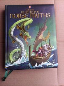 Usborne   Illustrated Norse Myths      英文原版   铜版纸印刷   内有彩插     北欧神话