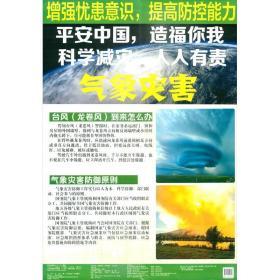 平安中国,造福你我 科学减灾,人人有责. 气象灾害