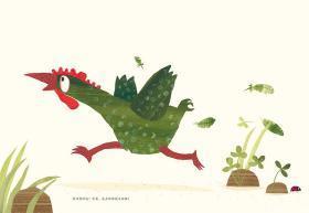 恐龙家庭相册趣味科普绘本恐龙知识启蒙绘本恐龙科普读物好奇心探索霸王龙宝宝书大开本3岁4岁5岁6岁儿童绘本