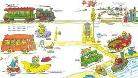 斯凯瑞金色童书情景英语百年诞辰纪念版全4册超好玩的单词书英语启蒙读物儿童绘本自然拼读少儿英语蒲公英童书馆