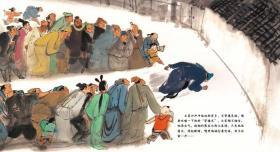 给孩子讲的聊斋故事全10册中国民间故事传统文化中国神话故事古代神话白小二偷鸭国画壁画岩画儿童绘本板桥三娘子