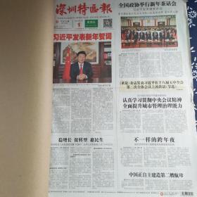 深圳特区报 2016年1月(1-10日)