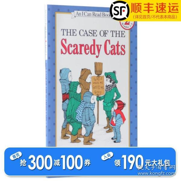 The Case of the Scaredy Cats (I Can Read, Level 2)胆小如鼠的猫咪事件