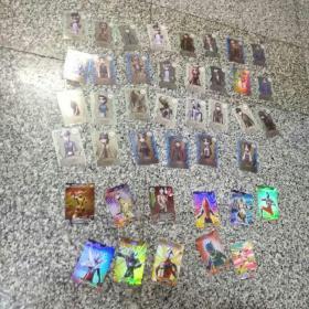 游戏卡    41张合售(基本上是闪光卡),基本上9品