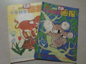 少年科学画报(1991年2.3)2本    八品