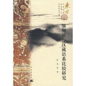 缅甸语与汉藏语系比较研究/东方文化集成 汪大年  著 9787800409165 昆仑出版社 正版图书