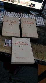 无产阶级文化大革命万岁(第二、四、五辑)  【平装 毛 像  页   沂蒙红色文献个人收藏展品   】