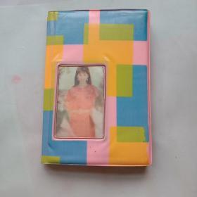 老日記本 明星日記 (內含8張明星照和20兒張明星粘紙) 80年代日記本