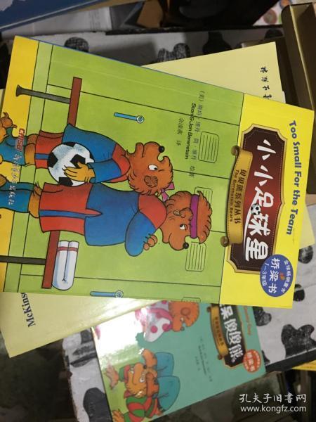 小小足球星-贝贝熊系列丛书