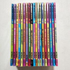 疯狂学校 英文(3-21)见图,32开,19册合售