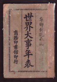 1925年 《世界大事年表》 宁乡-傅运森编