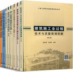 土建工程师必备技能系列丛书8件套 9787112229499 赵志刚 中国建筑工业出版社 蓝图建筑书店