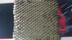 中国铁盔甲古代龙鳞甲鱼鳞甲片明光铠甲