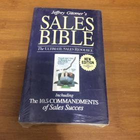 Sales Bible: The Ultimate Sales Resource (New Edition) 销售圣经:最终的销售资源