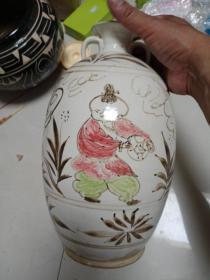 瓷器一件,年代未知,价格不高,售出不退。