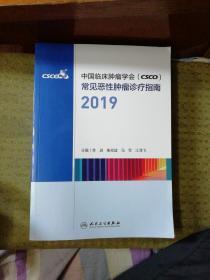 中国临床肿瘤学会(CSCO)常见恶性肿瘤诊疗指南2019