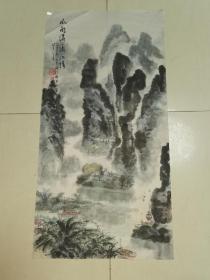 """二尺山水""""风雨潇潇漓江情"""""""