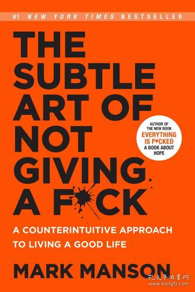 The Subtle Art of Not Giving a F*ck  A Counterin