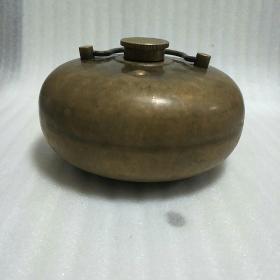 铜暖手壶(可正常使用)