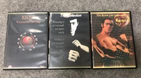 李小龙纪录片dvd3张(复刻版)