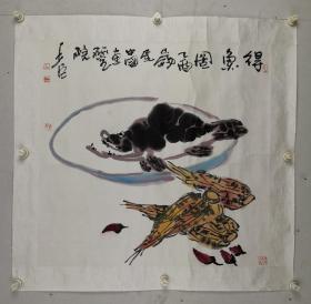 邢少臣     字扫尘。1955年8月生,北京人。毕业于北京东城师范学校。现为中国画研究院专业画家、中国美术家协会会员、副教授。曾任北京青年画会会长、北京花鸟画研究会秘书长。