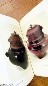 原色茶道具/上下两卷/1972年/淡交社/千宗室/茶入/茶碗等 补图 日文 2.76公斤