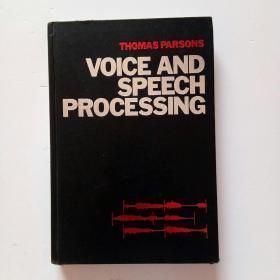 VOICE AND SPEECH PROCESSING(英文原版)精装